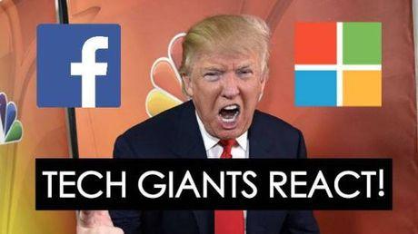 Vi sao gioi cong nghe hoang mang khi Donald Trump dac cu - Anh 1