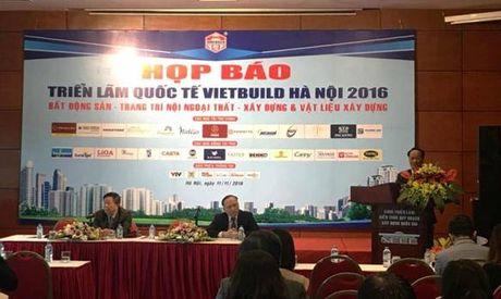 Vat lieu, cong nghe xay dung xanh cho do thi tuong lai tai VIETBUILD Ha Noi 2016 - Anh 2
