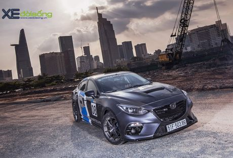 Mazda3 do dep hut hon cua 'than den' Khac Trung - Anh 1