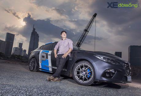 Mazda3 do dep hut hon cua 'than den' Khac Trung - Anh 2