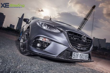 Mazda3 do dep hut hon cua 'than den' Khac Trung - Anh 3