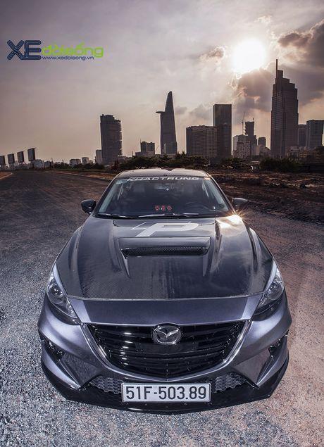 Mazda3 do dep hut hon cua 'than den' Khac Trung - Anh 4