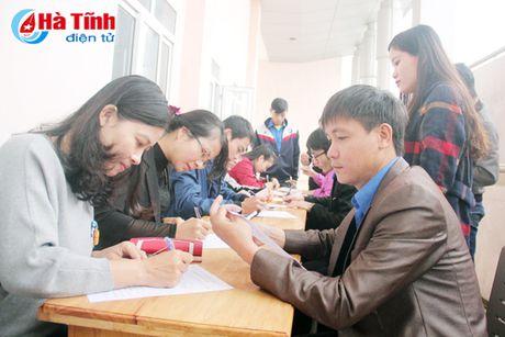 DVTN TP Ha Tinh huong ung Ngay hoi hien mau tinh nguyen - Anh 1