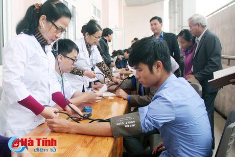 DVTN TP Ha Tinh huong ung Ngay hoi hien mau tinh nguyen - Anh 2