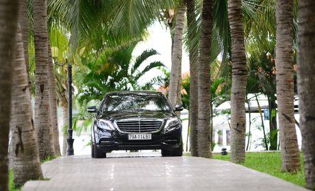 Kham pha dang cap Mercedes S-Class phuc vu he thong Vinpearl - Anh 1