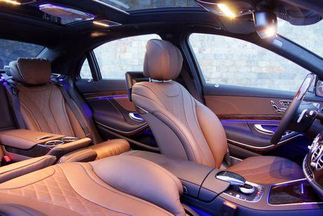 Kham pha dang cap Mercedes S-Class phuc vu he thong Vinpearl - Anh 3