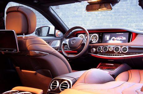 Kham pha dang cap Mercedes S-Class phuc vu he thong Vinpearl - Anh 4