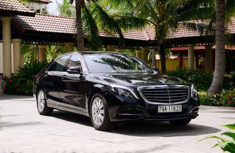 Kham pha dang cap Mercedes S-Class phuc vu he thong Vinpearl - Anh 7