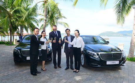 Kham pha dang cap Mercedes S-Class phuc vu he thong Vinpearl - Anh 8
