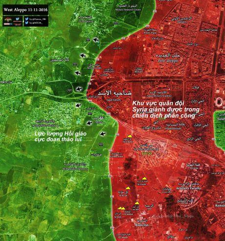 'Ho Syria' xung tran, chiem hau het cac khu vuc trong yeu o chao lua Aleppo - Anh 2