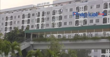 TP HCM: Lap mai che tren cau bo hanh de 'hut' nguoi dan su dung - Anh 1