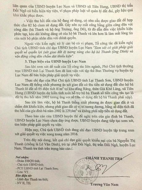 Vu thuong binh nang hon 20 nam di doi dat o Bac Giang: Thanh tra tinh ket luan hang loat sai pham - Anh 2