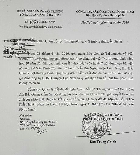 Vu thuong binh nang hon 20 nam di doi dat o Bac Giang: Thanh tra tinh ket luan hang loat sai pham - Anh 6