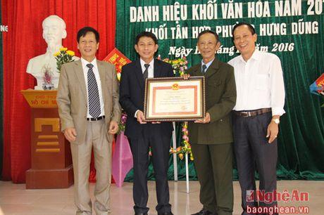 Ngay hoi dai doan ket o khoi Tan Hop, phuong Hung Dung - Anh 2