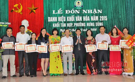 Ngay hoi dai doan ket o khoi Tan Hop, phuong Hung Dung - Anh 4