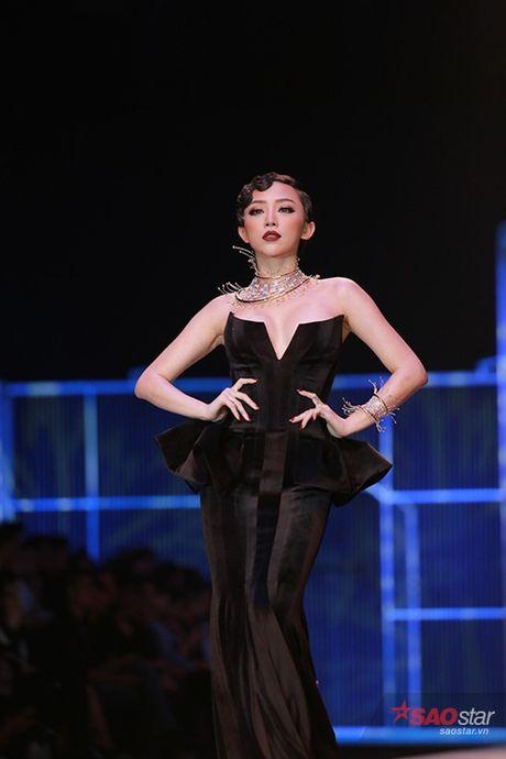 Nhung lan 'da cheo' san, dien catwalk cua cac 'chien binh' The Remix - Anh 4