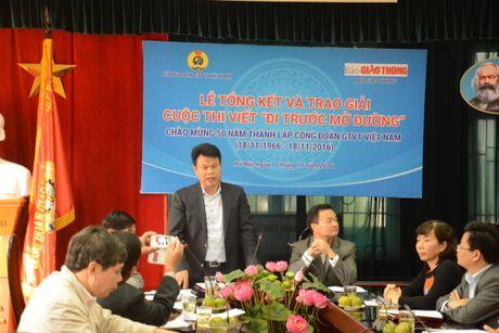 Tac gia Quang Huy dat giai nhat cuoc thi 'Di truoc mo duong' - Anh 1