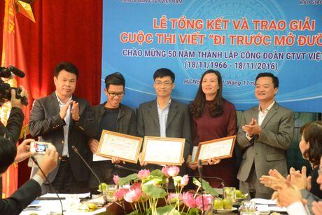 Tac gia Quang Huy dat giai nhat cuoc thi 'Di truoc mo duong' - Anh 2