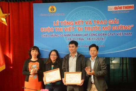 Tac gia Quang Huy dat giai nhat cuoc thi 'Di truoc mo duong' - Anh 3