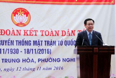Pho Thu tuong Vuong Dinh Hue du ngay hoi dai doan ket tai Cua Lo - Anh 2