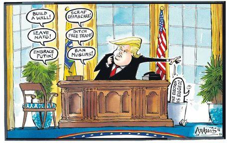 Thien than Trump cat canh trong tranh biem hoa - Anh 2
