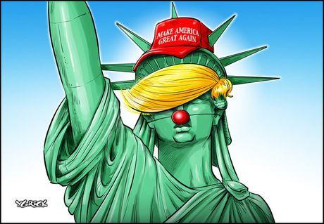 Thien than Trump cat canh trong tranh biem hoa - Anh 5