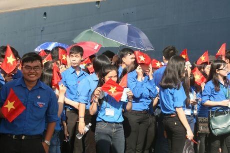 Don hon 320 thanh nien tu 10 nuoc ASEAN va Nhat Ban - Anh 1