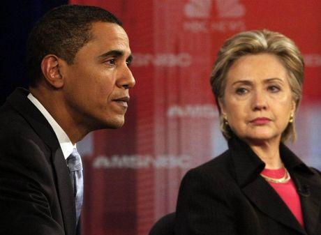 Ba Clinton khoc, trach ong Obama chua het minh - Anh 1