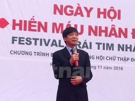 Ngay Hoi hien mau nhan dao - Festival trai tim nhan ai nam 2016 - Anh 1
