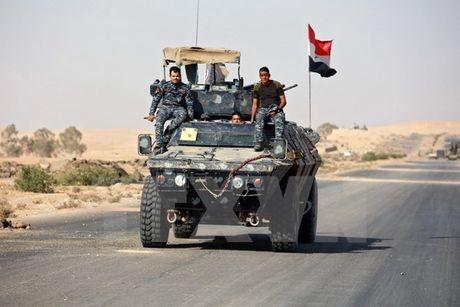 Quoc ky Iraq bay tren thanh co Nimrud sau tran kich chien voi quan IS - Anh 2
