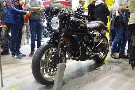 Ducati Scrambler Cafe Racer 'chot gia' 260 trieu tai Anh - Anh 10