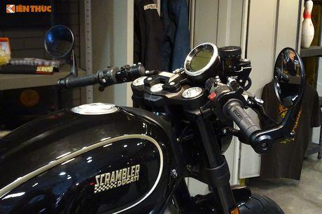 Ducati Scrambler Cafe Racer 'chot gia' 260 trieu tai Anh - Anh 4