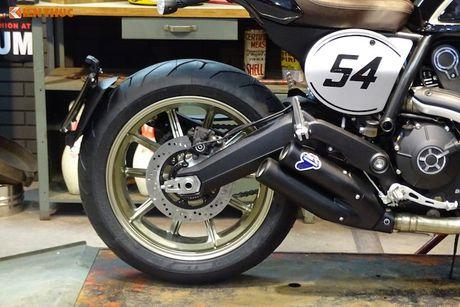 Ducati Scrambler Cafe Racer 'chot gia' 260 trieu tai Anh - Anh 7