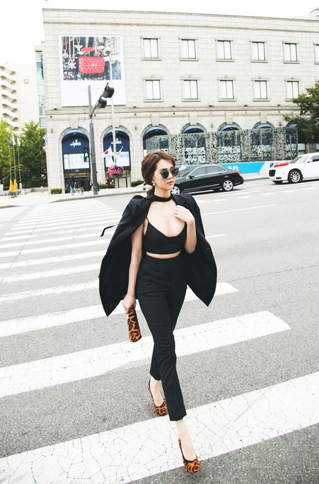 Ngam street style cua sao Viet nhung ngay dau dong - Anh 12