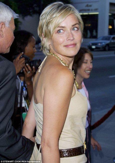 Sharon Stone khong giau duoc ve gia nua - Anh 7