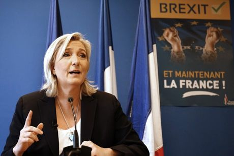 Bau cu tong thong Phap: Ba Le Pen co thang nhu ongTrump? - Anh 1