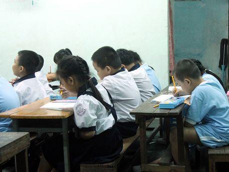 Vinh Phuc: Thanh, kiem tra day - hoc them va cac khoan thu dau nam hoc - Anh 1