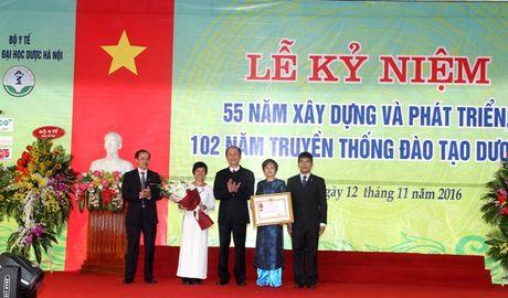 Truong Dai hoc Duoc ky niem 55 nam ngay thanh lap - Anh 1