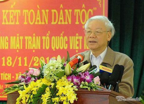 Tong Bi thu du Ngay hoi dai doan ket tai thon Phat Tich, Bac Ninh - Anh 1