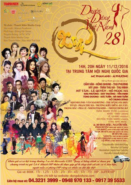 """Lan dau tien """"Duyen dang Viet Nam"""" hien dien ca 2 mien - Anh 1"""