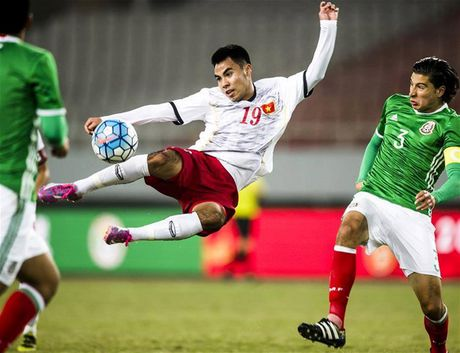 Cup tu hung Vu Han: U22 VN that thu 1-3 truoc U22 Uzbekistan - Anh 1