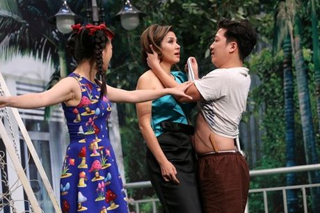 Truong Giang ven ao lau nuoc mat Viet Trinh, Tran Thanh bi thay Trung Dan 'hanh' toi ta - Anh 4