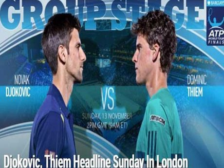 Tennis, ATP Finals ngay 1: Djokovic quyet doi lai so 1 - Anh 1