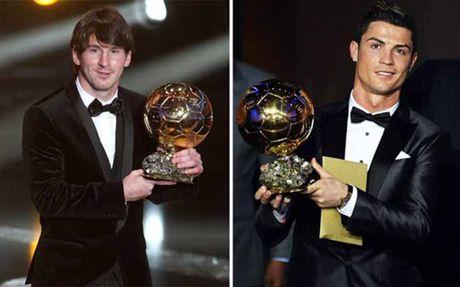 2 QBV cua Messi & Ronaldo de khong duoc cong nhan - Anh 1