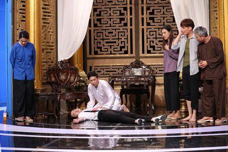 Tran Thanh bi Trung Dan 'hanh' trong 'On gioi, cau day roi' - Anh 3