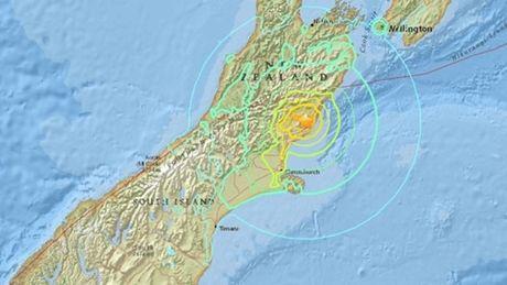 Dong dat 7,4 do Richter rung chuyen New Zealand - Anh 1