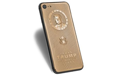 "iPhone 7 ""Donald Trump"" co gia hon 3000 USD - Anh 1"