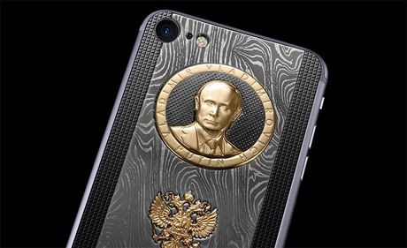 "iPhone 7 ""Donald Trump"" co gia hon 3000 USD - Anh 2"