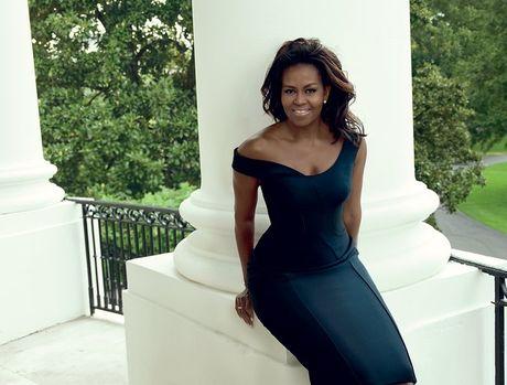 Michelle Obama, nguoi phu nu quyen luc 3 lan xuat hien tren bia Vogue - Anh 3