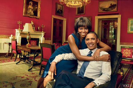 Michelle Obama, nguoi phu nu quyen luc 3 lan xuat hien tren bia Vogue - Anh 6